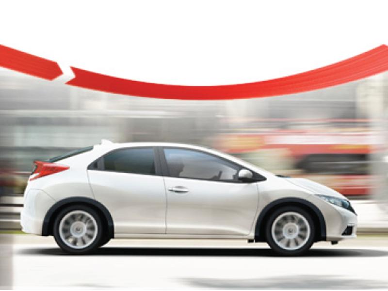 Probador de AUTO BILD por un día con el nuevo Honda Civic