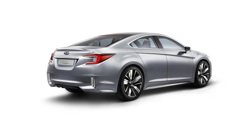 El nuevo Subaru Legacy