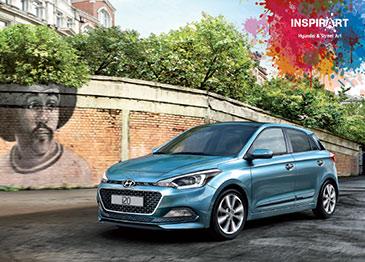 Presentación Nuevo Hyundai i20 en el Centro Comercial Artea