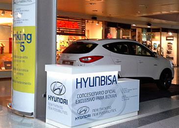Nuevo punto del información Hyunbisa en el C.C. Max center