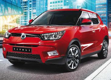 SsangYong Tivoli un SUV práctico y robusto
