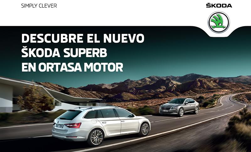 Conoce el nuevo Škoda Superb en el Alto de Enekuri