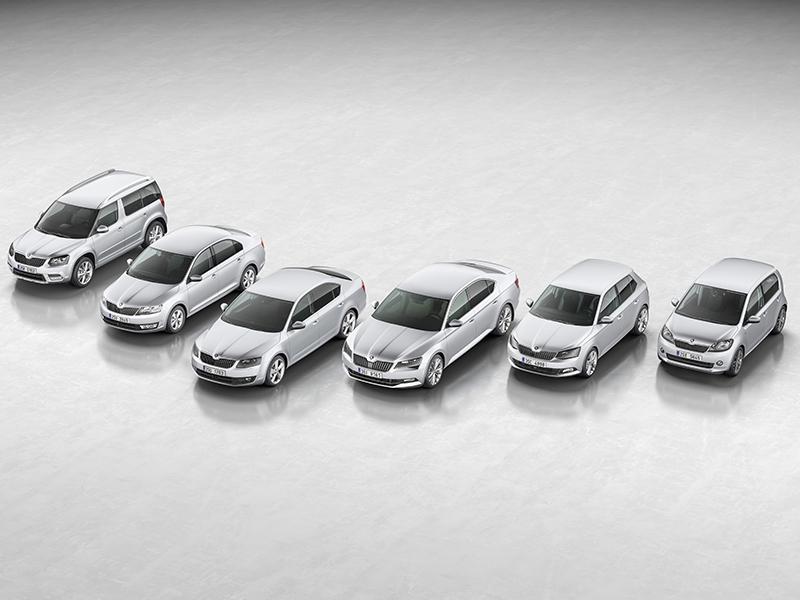Škoda cierra un 2015 superando el millón de coches vendidos