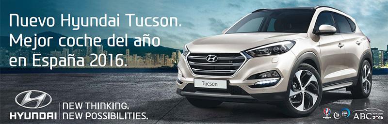 Hyundai Tucson mejor coche del año 2016