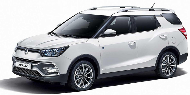 XLV Tívoli, el nuevo monovolumen compacto de SsangYong debuta en Ginebra