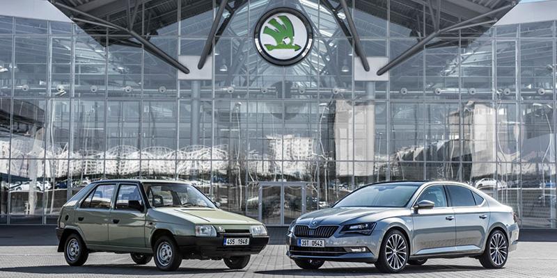 Skoda referente de la industria automovilística checa.