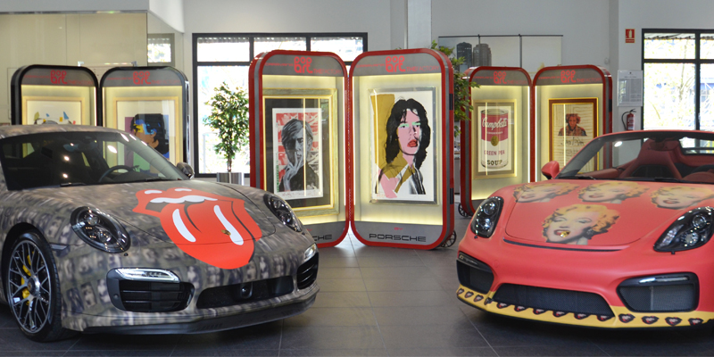 ¡¡La Caravana Pop Art Andy Warhol llega a Porsche Bilbao!!