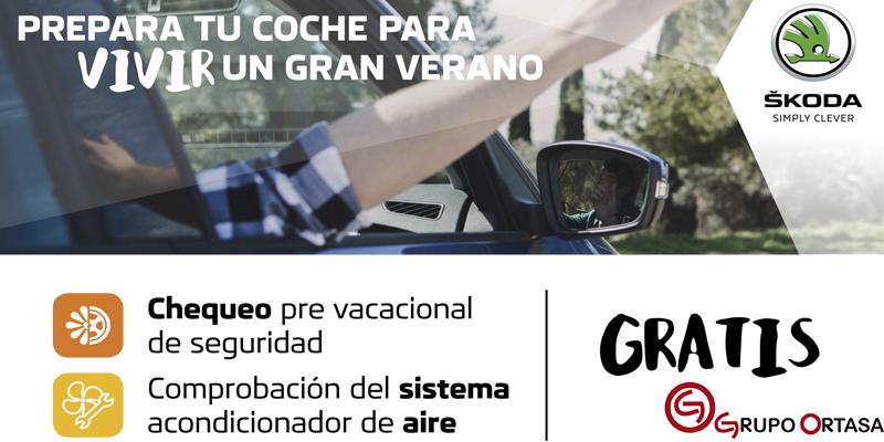 Campaña verano SKODA Grupo Ortasa