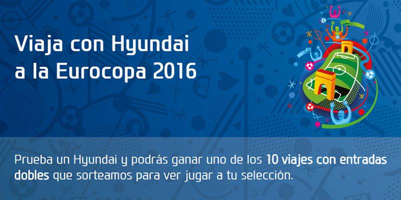 HYUNDAI te invita a la EUROCOPA 2016
