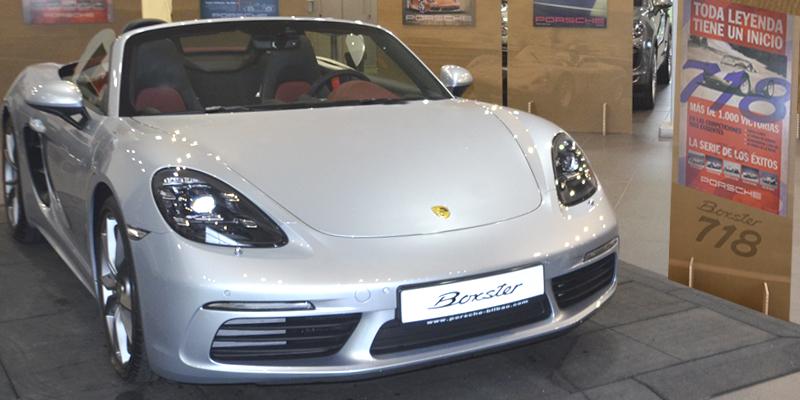 El nuevo Porsche 718 en Centro Porsche Bilbao
