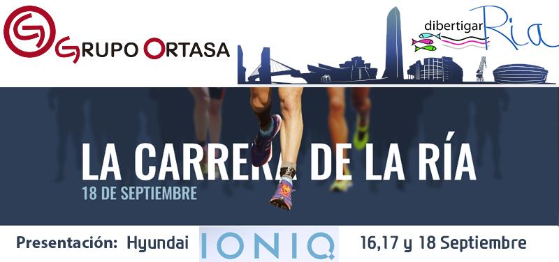 Corre la 20KM Bilbao GRATIS con Ortasa y Hyundai IONIQ
