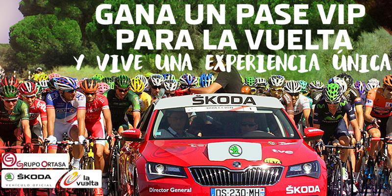 Consigue pases VIP para la Vuelta Ciclista