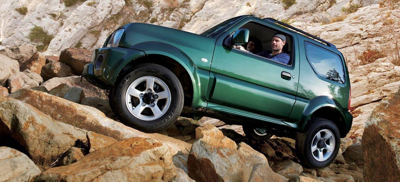 Suzuki Jimny todoterreno para todo tipo de situaciones