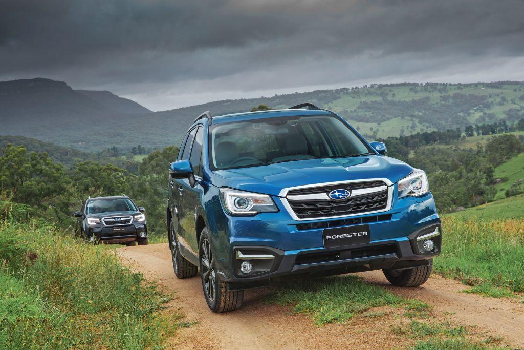 Subaru Forester el más aventurero de Ortasa.