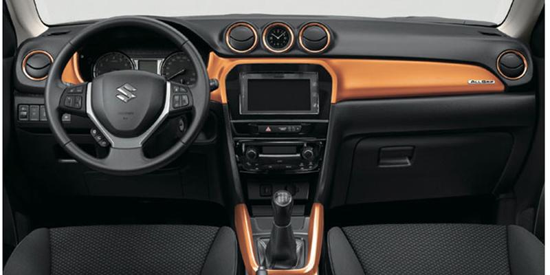 Suzuki Vitara Vizcaya interior