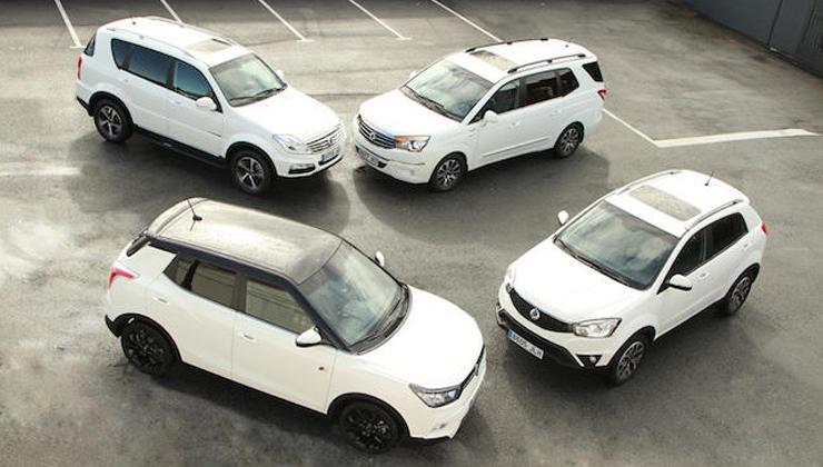 Flotas y coches de empresa SsangYong