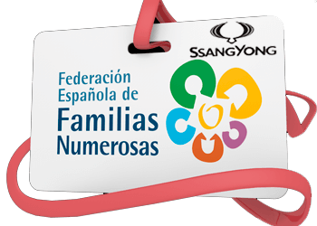 Ssang Yong España con las familias numerosas