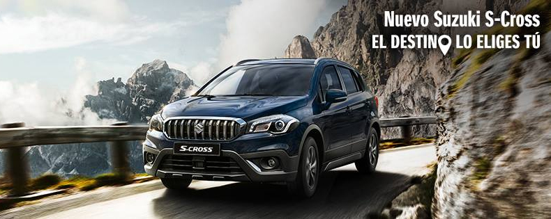 Nuevo Suzuki S-Cross ya disponible