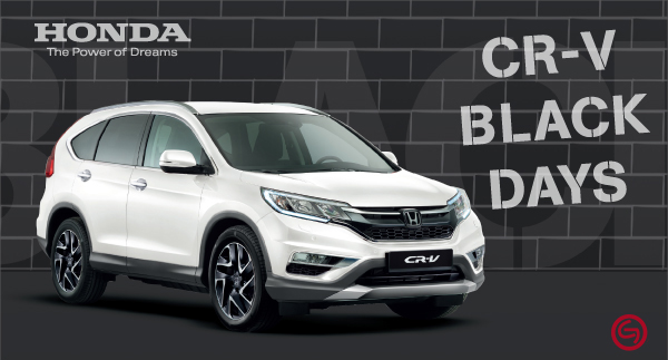 Honda CR-V Black Days: 6000€ de descuento