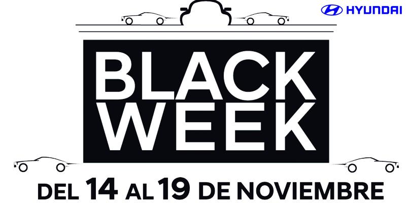 Ya está aquí la Black Week de Hyundai.