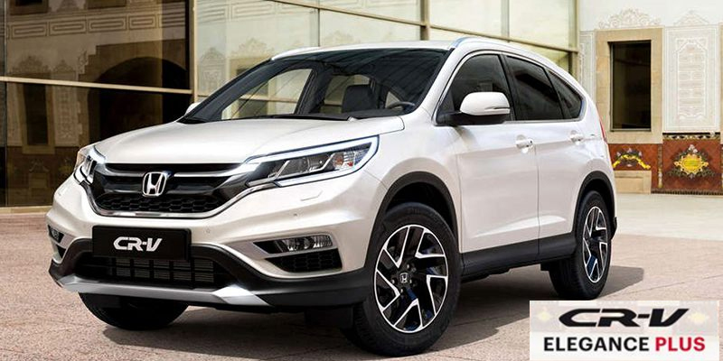 Honda CR-V diesel 1.6 I-DTEC con equipamiento ELEGANCE PLUS de regalo por 180/mes