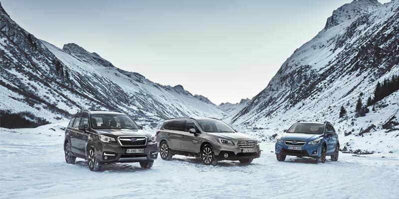 Liquidación coches Subaru en Stock 2017