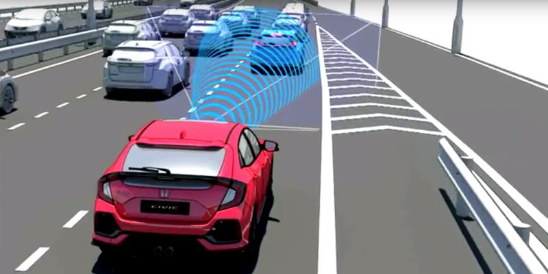 Nuevo sistema de seguridad Honda Sensing