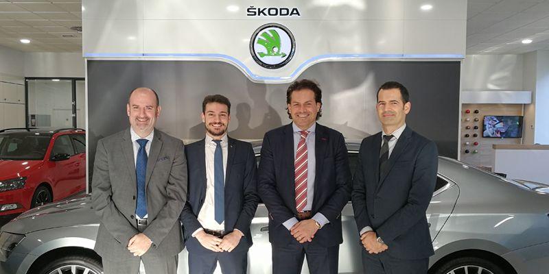Nuevo concesionario Škoda Vizcaya