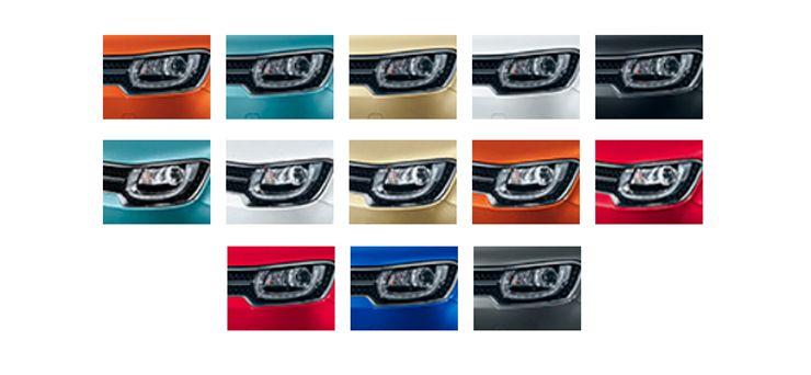 Gama colores Suzuki Ignis 2017