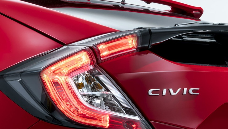 Honda Civic 2017 diseño