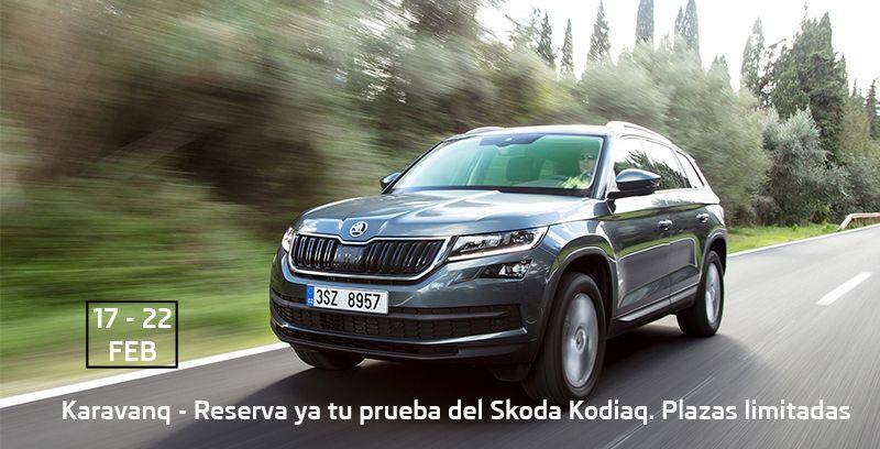 Karavanaq de Skoda Kodiaq llega a Bilbao el 17 de febrero.