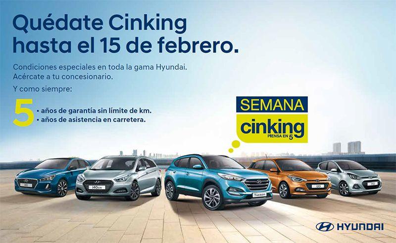 Oferta Cinking Hyundai