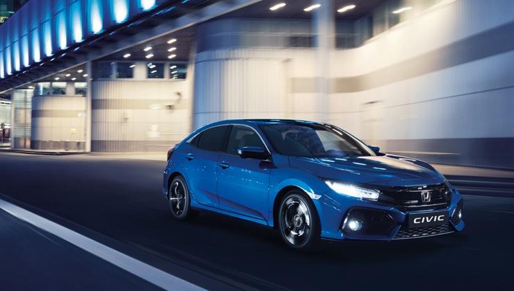Ofertas Nuevo Honda Civic azul 2017 Vizcaya