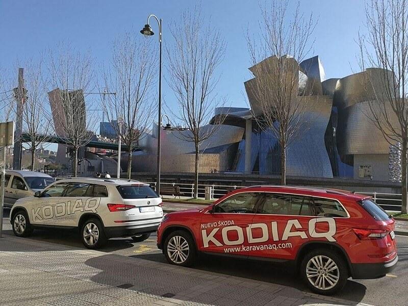 Skoda Kodiaq Guggenheim