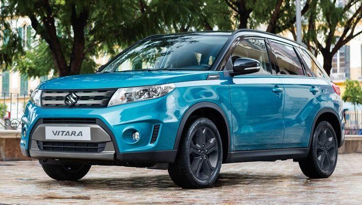 Suzuki Vitara azul oferta nuevo y KM 0