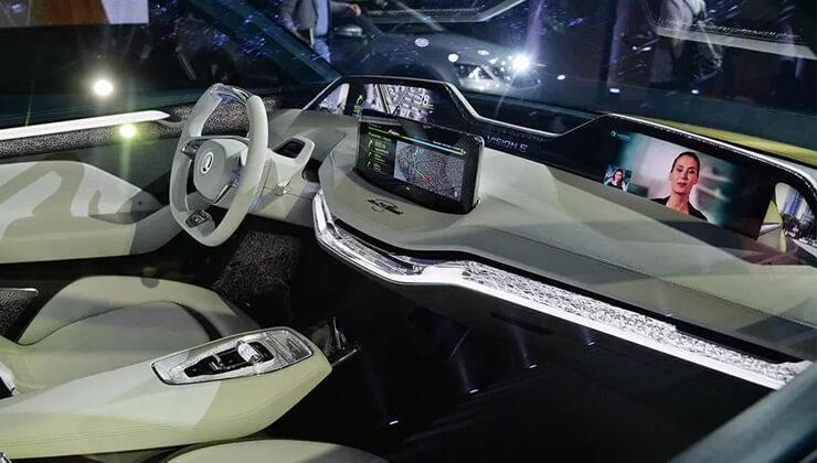 Skoda Vision E presentacion 2017 interior