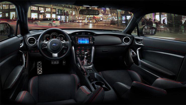 Subaru BRZ 2017 interior precio