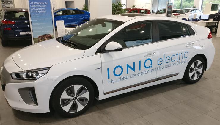 Hyundai Ioniq eléctrico llega a Bizkaia