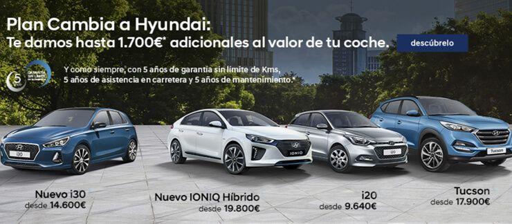 Oferta Plan Cambia a Hyundai en Grupo Ortasa