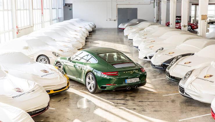 Fabricación Porsche 911 número 1.000.000