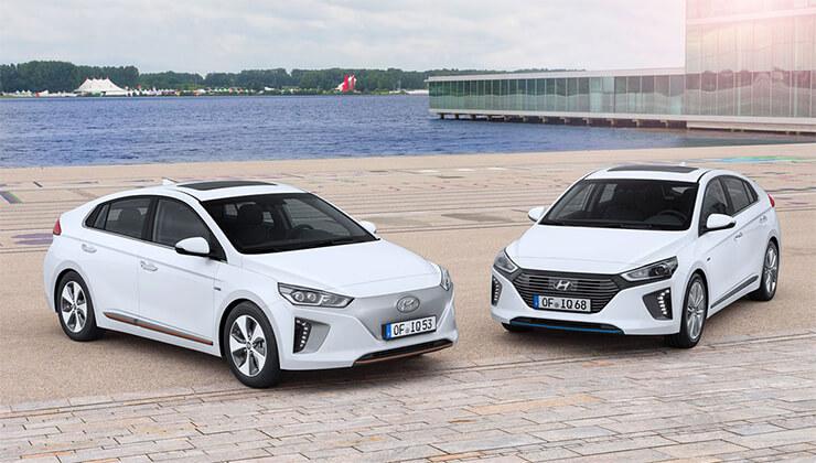 Hyundai Ioniq electrico y enchufable