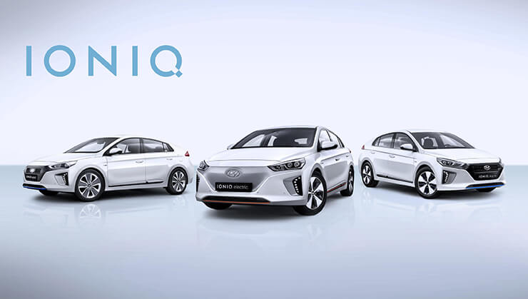Gama Hyundai Ioniq coches electricos
