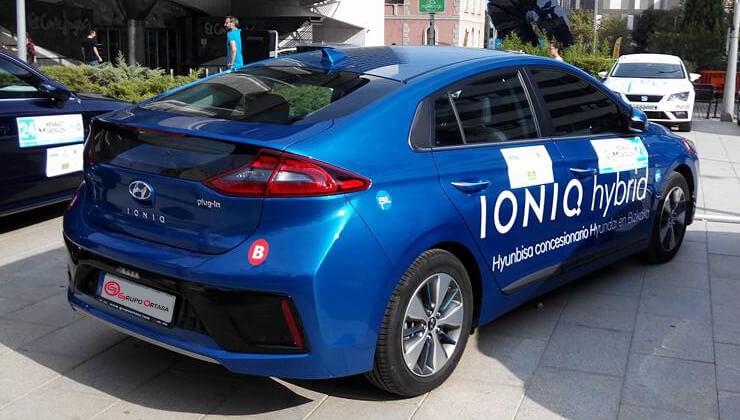 Hyundai Ioniq Eco Rally Valencia