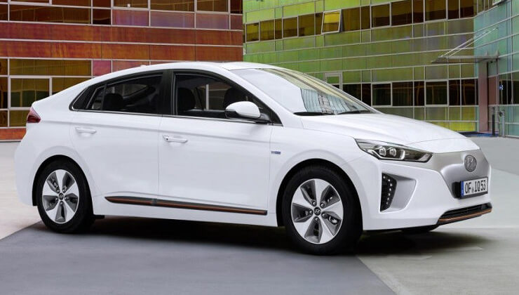 Hyundai Ioniq electrico precio