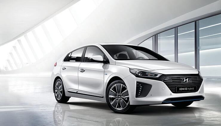 Hyundai Ioniq hibrido precio