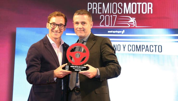 Honda Premio mejor coche compacto 2017