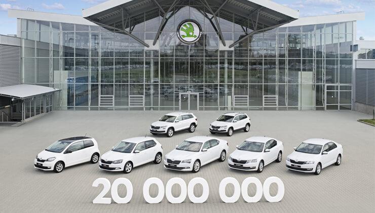 Skoda 20 millones coches producidos