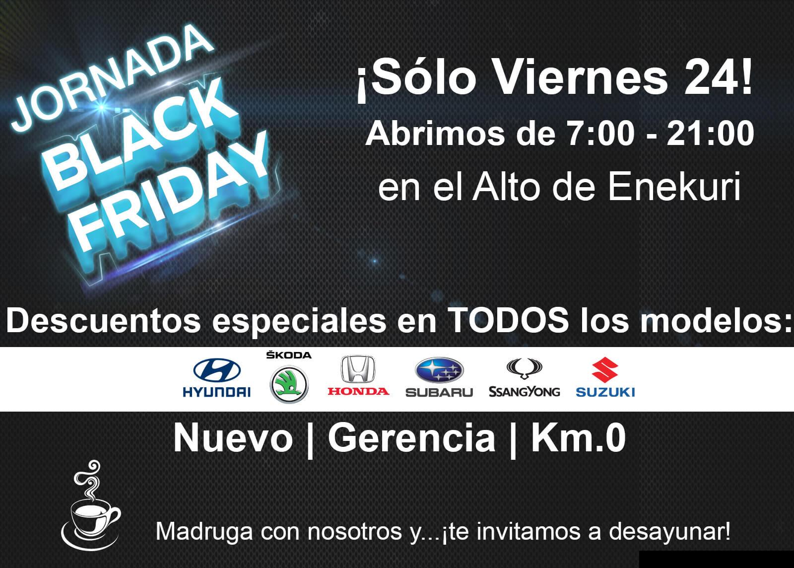 Black Friday Viernes 24 ofertas exclusivas