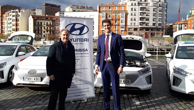 Hyundai Ioniq electrico Alfonso Gil