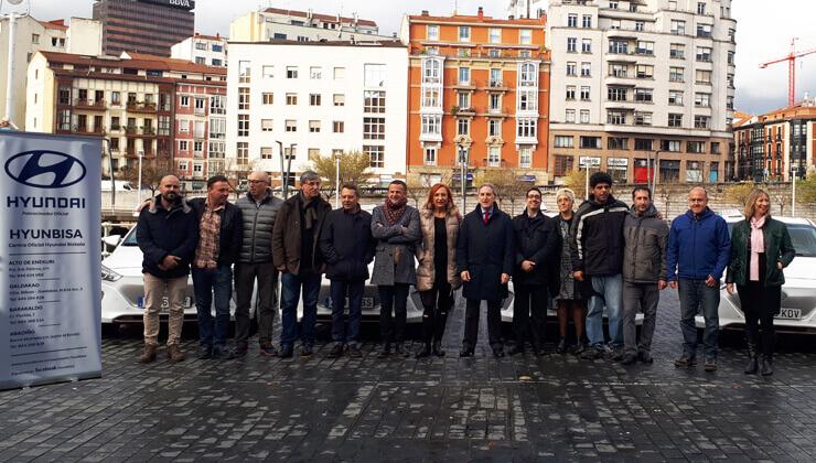 Hyundai Ioniq electrico taxistas Bilbao